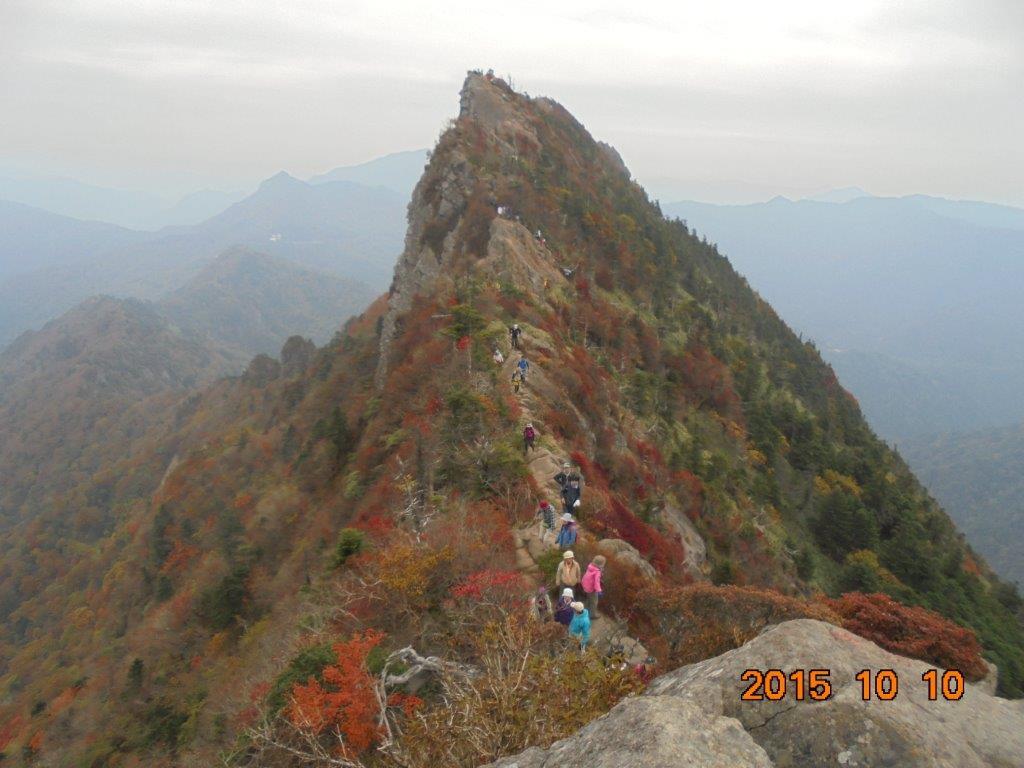 1_石鎚山の紅葉