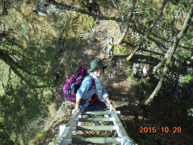 2_石鎚山の梯子