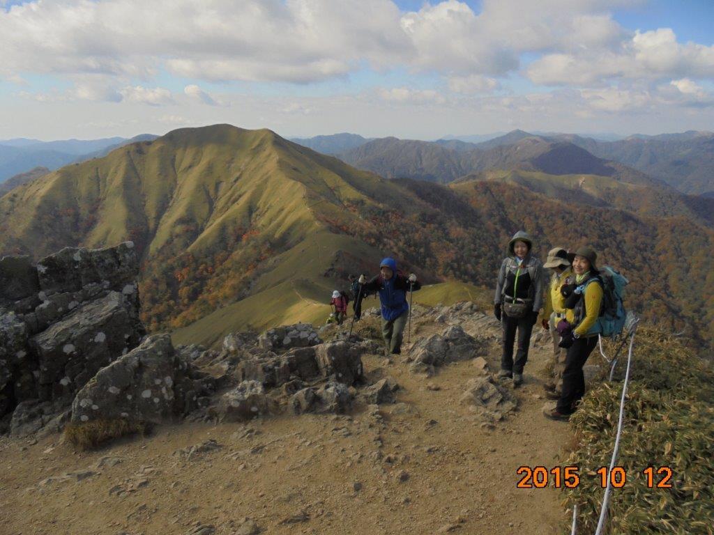 4_剣山の山頂