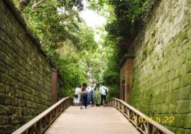 D:\横浜ハイキングクラブ\YHC四季報\四季報2021年\猿島~海軍史跡巡り、写真\4.猿島要塞跡 P1070781.JPG